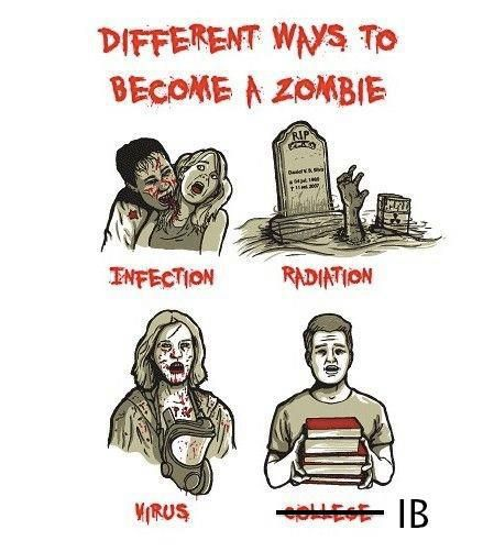 ZOMBIES AND IB :)