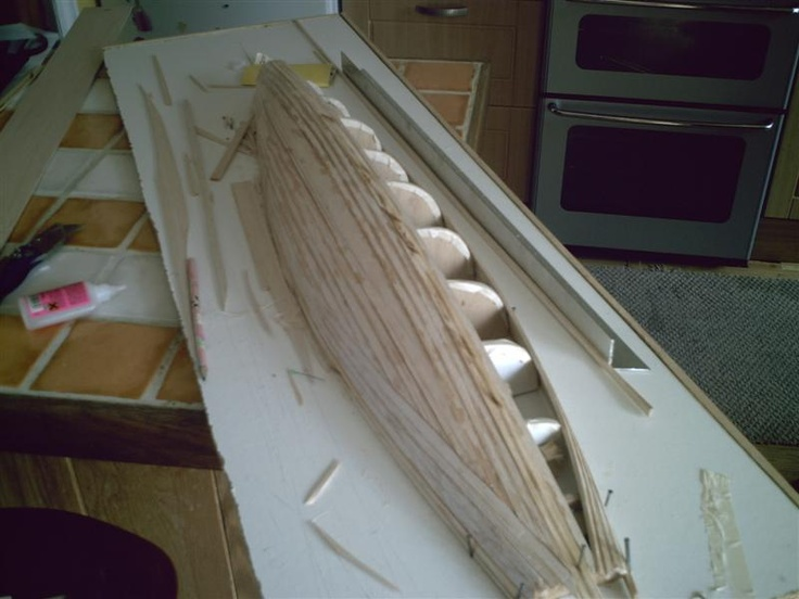 Building the hull | Wood boat plans, Free boat plans, Boat ...