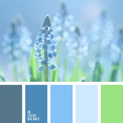 azul cerúleo, azul claro, celeste oscuro, celeste pastel, cerúleo pastel, color azul aciano, color azul tejano, color azul vaquero, color esmeralda, color tallo verde, color verde hierba, matices del azul oscuro, paleta de colores monocromática, paleta del color azul oscuro monocromática,