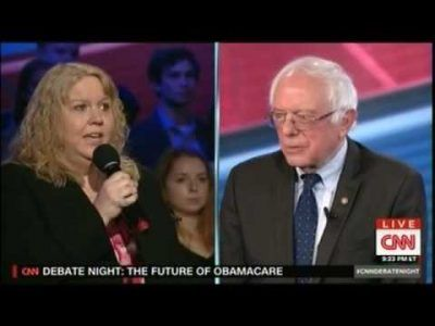 Bernie Sanders Gets Away with Tough Obamacare Question during CNN Debate with Ted Cruz #news #alternativenews