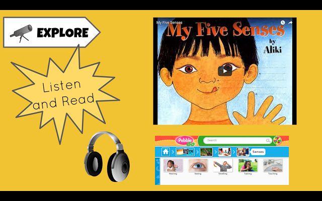 Primarily Google: Kindergarten Hyperdoc - My Five Senses