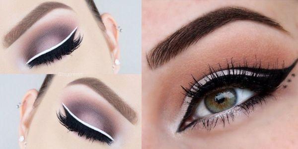 Ιδέες για την εφαρμογή του eyeliner!