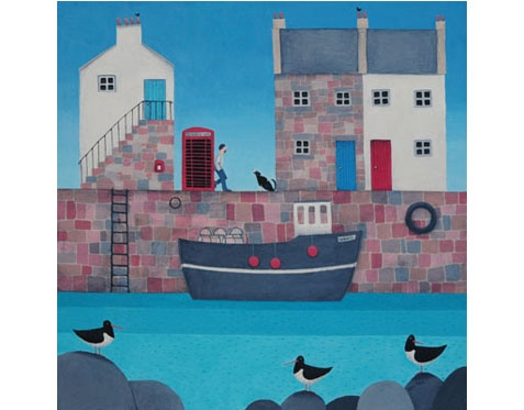 Lovely limited edition print by Ailsa Black £50 + FREE delivery to the UK. Bring something cheery to your winter!