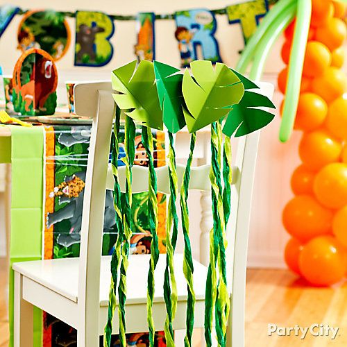 Go Diego, Go! Chair Deco DIY