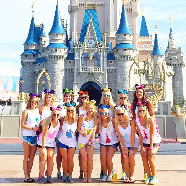 Disney World Bachelorette Party