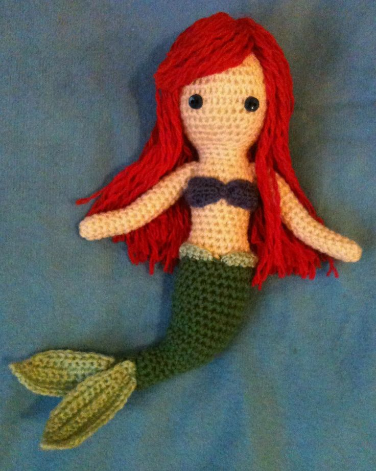 amigurumi free pattern crochet little mermaid