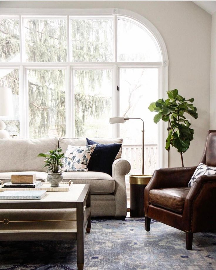 Great Light And Bright Transitional Living Room | See This Instagram Photo By  @studiomcgee Part 30