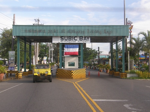Subic Bay, Phillipines.  The gate off the Navy Base and into Olongapo or Subic Bay.  I was there in 1977.