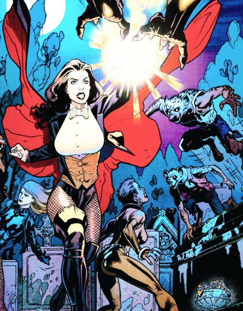 zatanna justice league heroes - photo #41