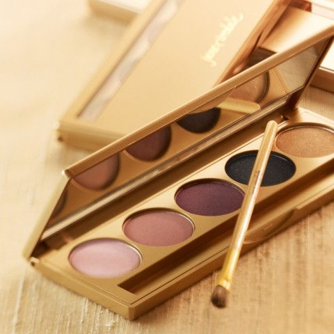 http://www.shopvillagespas.com/ JANE IREDALE PUREPRESSED EYE SHADOW KIT $62.00 CAD Use each shade alone, layer or blend together Formulated with minerals, botanical extracts and silica Creates gorgeously smoky eyes Packaged in a mirrored compact with a soft application brush.  #Gifts