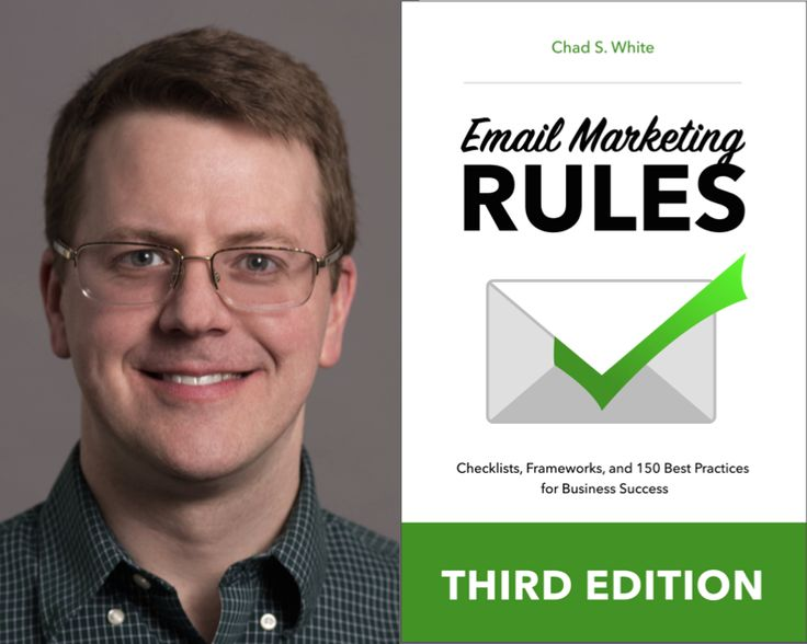 """About The Marketing Book Podcast interview with Chad S. White, author of """"Email Marketing Rules."""""""