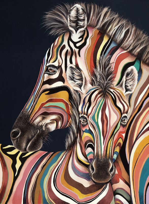 9 best hayley goodhead images on pinterest zebra art for Best way to sell art prints