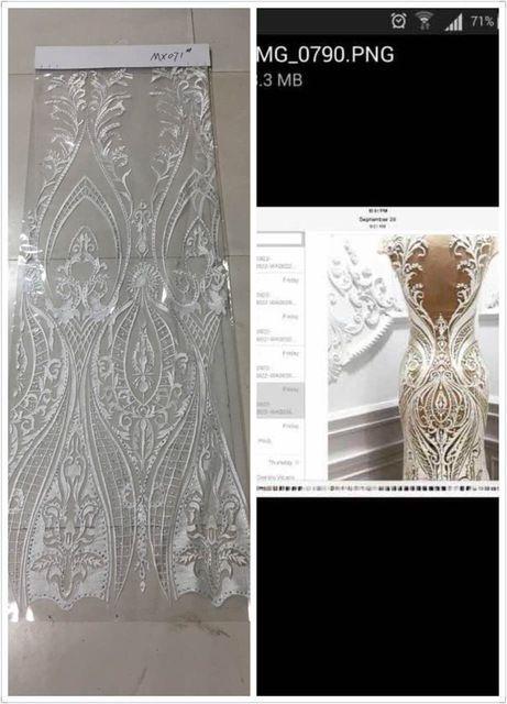 Z-han61226 Бесплатная доставка 5 ярдов Полиэфирной сеткой, ткань с камнями вышитым узором тюль вышивка кружевной ткани