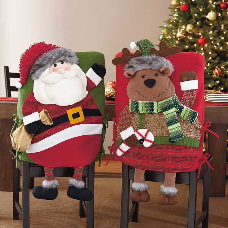Covers for chairs-2 pieces (Santa and reindeer) | Costco Mexico