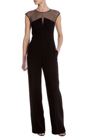 Silk panelled jumpsuit - Karen Millen. Love it.