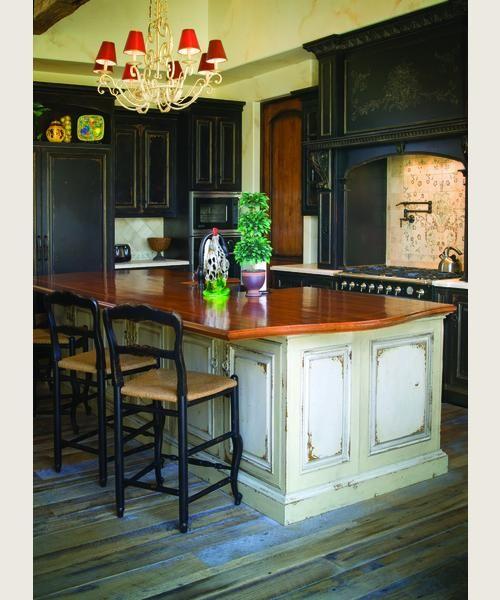 Habersham Cabinets Kitchen: Habersham - Venetian Hearth - Custom Finish