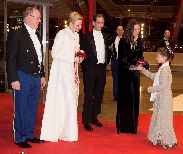 prins albert en prinses charlene 19-11-2016