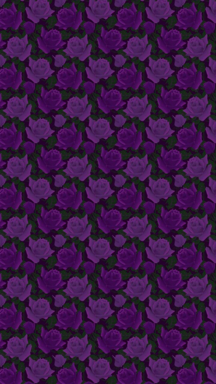Love flower power daisy graffiti print cotton fabric 60s 70s retro - Black And Purple Flowers