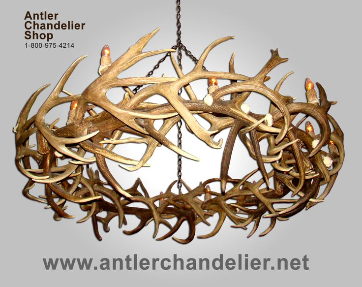 21 best antler chandeliers images on pinterest deer antlers deer deerantlerchandelier xl antler chandeliers antler chandelier aloadofball Images