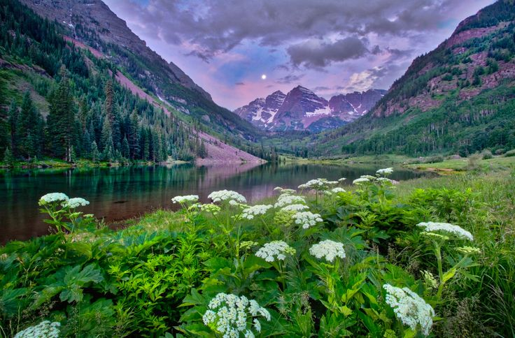 ***Maroon Bells (Aspen, Colorado) by Anne Strickland / 500px