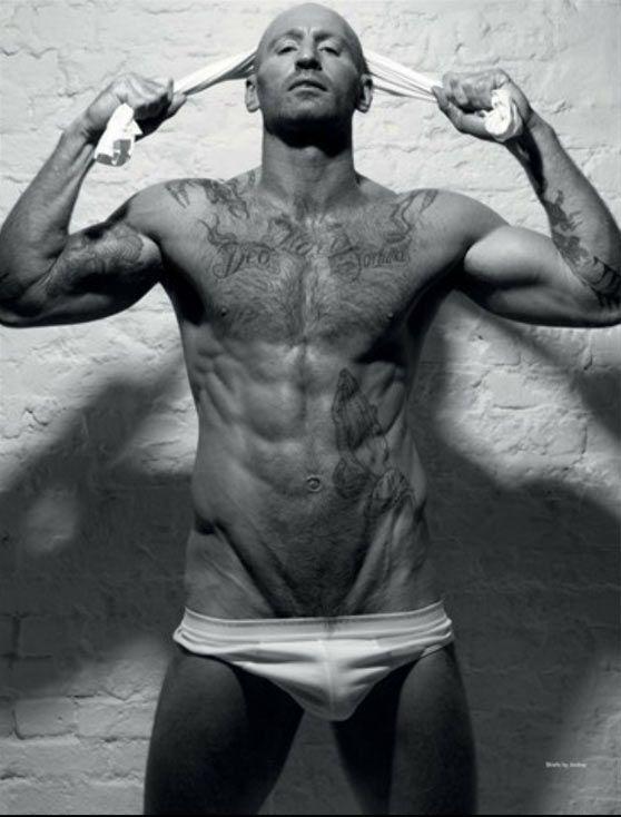 Gareth Thomas On Cover Of Attitude's Naked Issue  #rugby #GayAthletes #GarethThomas #AttitudeMagazine