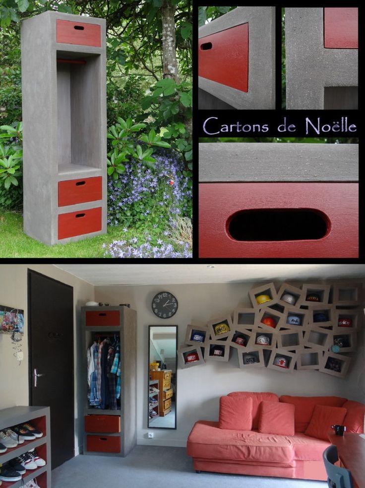 Les 197 meilleures images propos de tableau collectif de meubles en carton - Magasin qui reprend les meubles ...