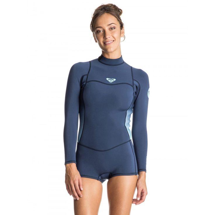 Womens Syncro 2/2 Long Sleeve Back Zip Bootie Springsuit Wetsuit
