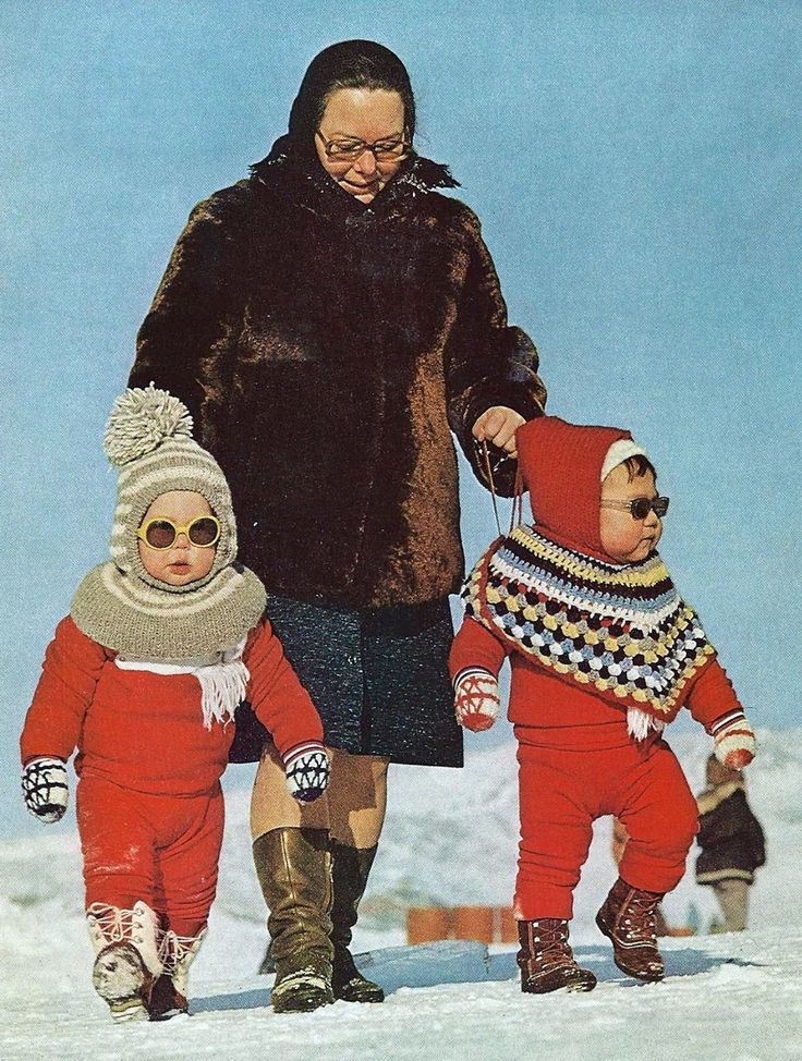Greenland tots National Geographic | December 1973