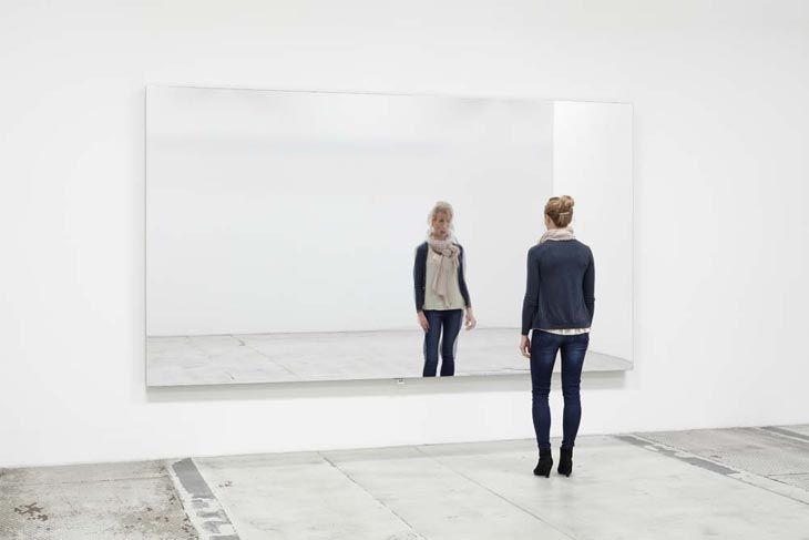 Jeppe Hein - Mirror Wall - Contemporary Art