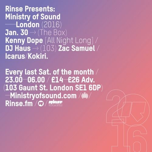 Rinse FM Podcast - Cartier's 1 Year Anniversary - 23rd January 2016 by Rinse FM on SoundCloud