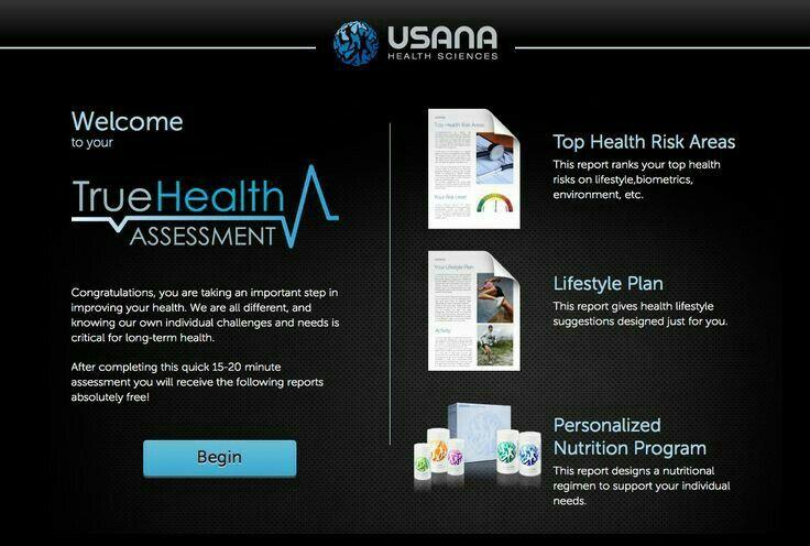 Visit vioredumitru.usana.com for testing your health free
