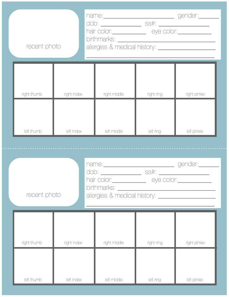 Family Emergency Binder Printables ~ Pinteresting Thursdays ~ Mom with a Prep {blog}