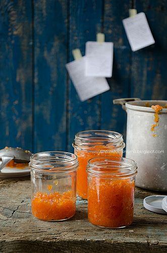 Marmellata di Zucca-Pumpkin Marmalade