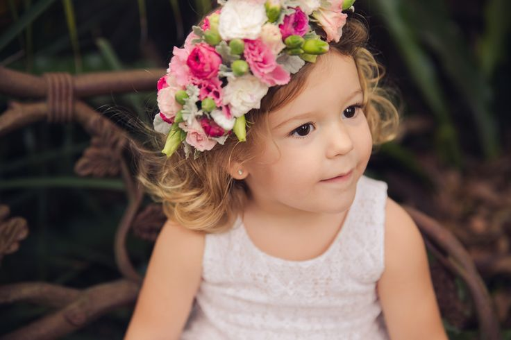 Flower crown Flowers by The Lillipillian Photography by Wonderlust Studios