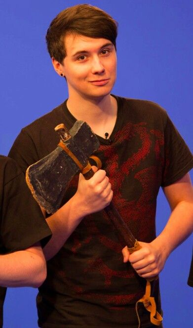 Dan darling..put..the..axe..down... remember when you sold that little boy an axe?... yeah