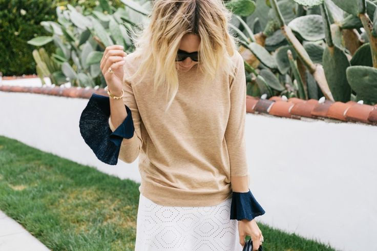 5 Ways To Style Bell Sleeves
