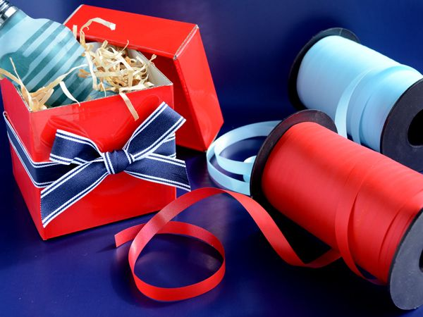 Boxes & ribbon..for the perfect wrapping solution