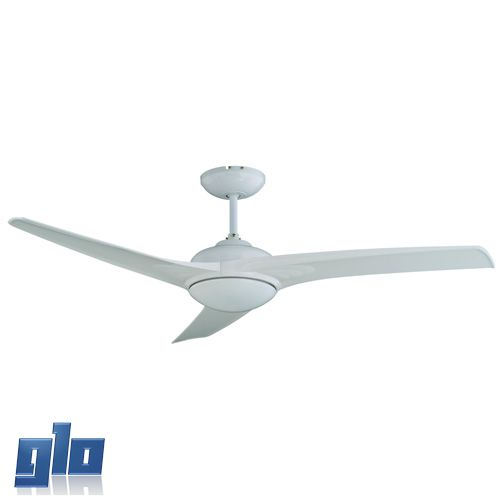 Glo Lighting | Radiant Jx01A Ceiling Light Fan 230V - Mach One With Remote (Multiple Colours/Finishes)