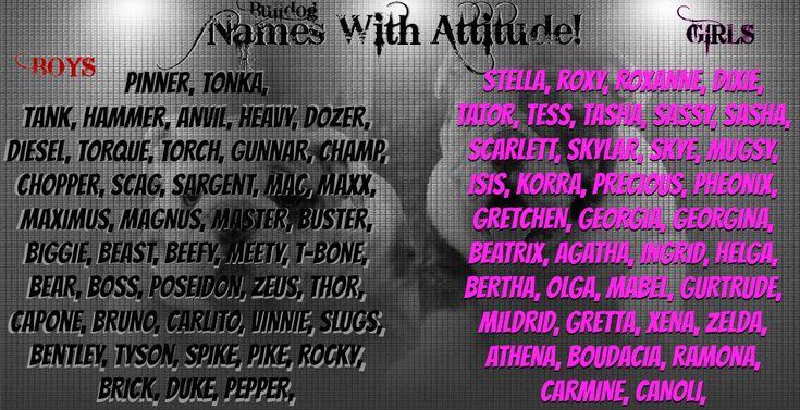 Tough Bulldog Names
