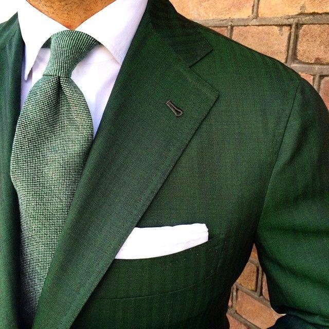 Danielmeul Wearing A Viola Milano Grass 7 Fold Cashmere
