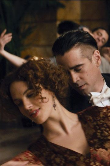 Jessica Brown Findlay as Beverly Penn & Colin Farrell as Peter Lake - Winter's Tale