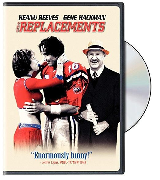 The Replacements Keanu Reeves, Gene Hackman, Brooke Langton, Orlando Jones, Jon Favreau, Faizon Love, Jack Warden, Gailard Sartain, John Madden, Pat Summerall