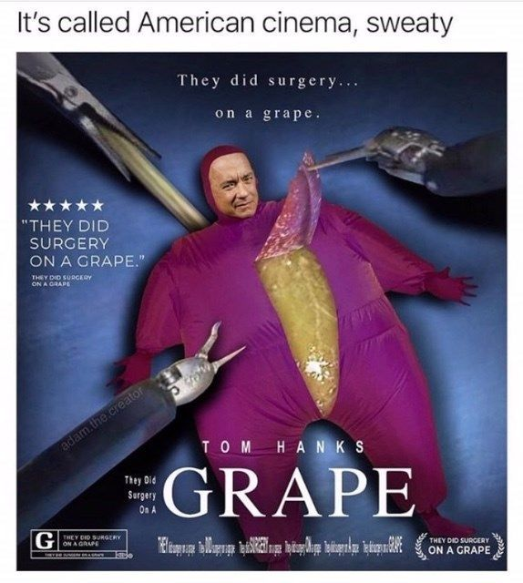 The Did Surgery On A Grape Is An Insanely Weird Meme Explosion