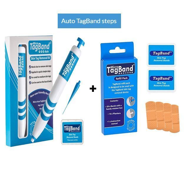 Micro Auto Tagband Skin Tag Remover Device For Small To Medium
