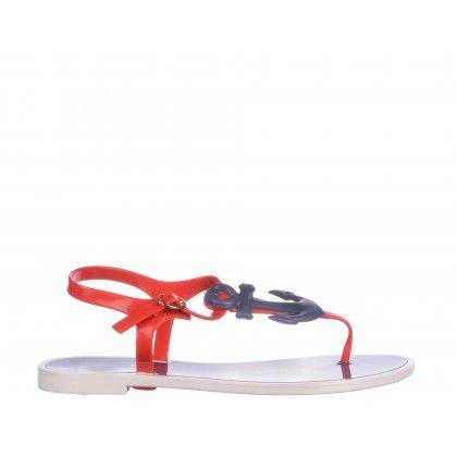 Sandale Petite Jolie rosii de dama