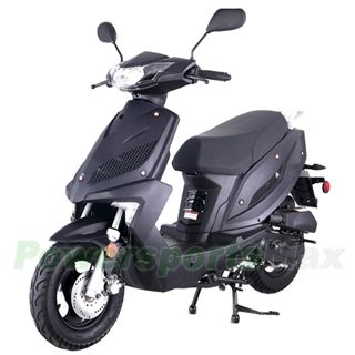 "Taotao New Speed 50cc Moped Scooter with fully automatic Transmission, 10"" Wheels! Changeable color panels!"