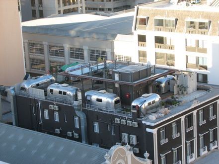 By Dian Hasan   August 13, 2009 When hoteliers extinguish all ideas to make a splash in the world of hospitality, they take their vintage RVs on the rooftop. Just when you thought all possible hote…