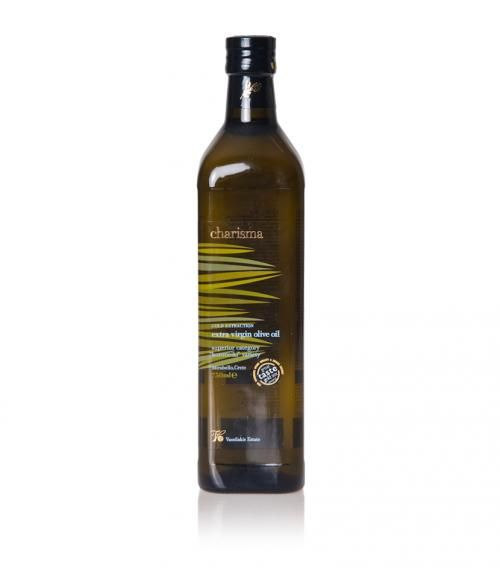 """""""Charisma"""" extra virgin olive oil 750ml available at just 9.00€"""