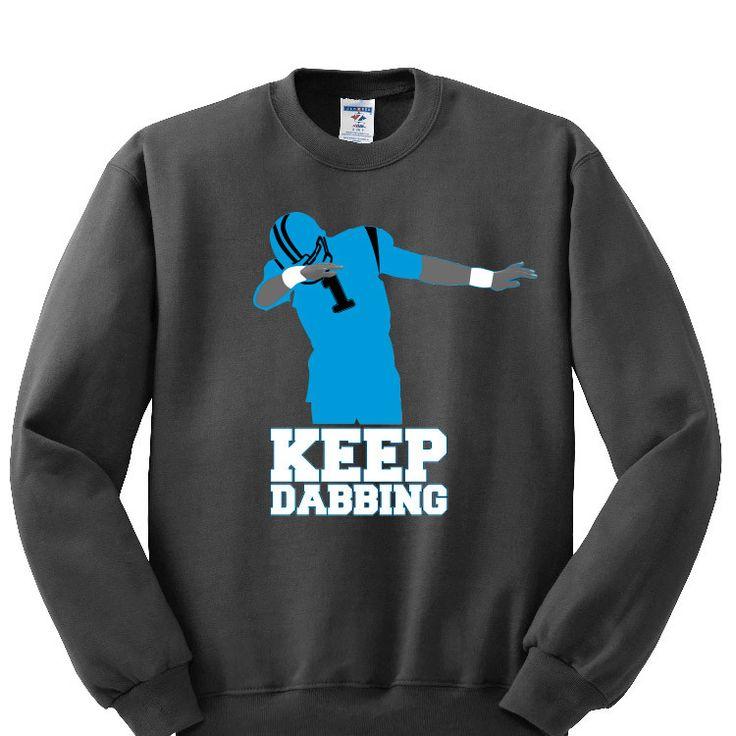 Keep Dabbing Carolina Panthers Sweatshirt Sports Clothing