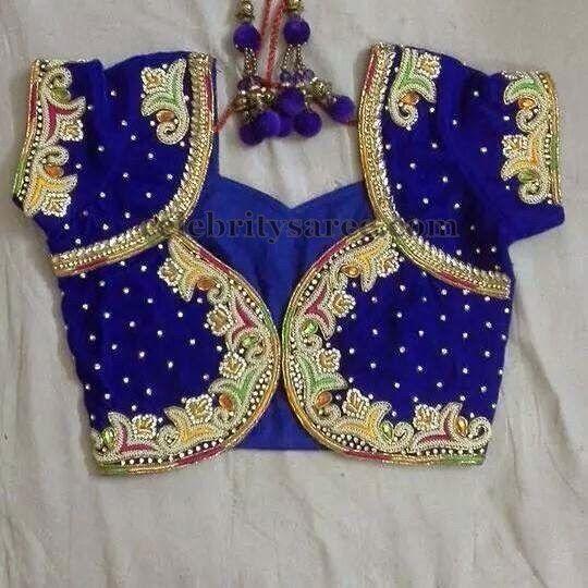 Thread Work New Pattern Blouse | Saree Blouse Patterns